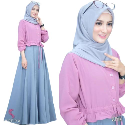 Anjani Dress / Gaun Pesta / Baju Muslim Modern / Dress Muslim Terbaru / Baju Gamis / Kebaya Brukat / Baju Muslim Terbaru / Kebaya Kondangan / Baju Murah / Gamis Modern / Gaya Muslimah 2020 / Gamis Dress Brukat / Kebaya Arisan / Kebaya Muslim