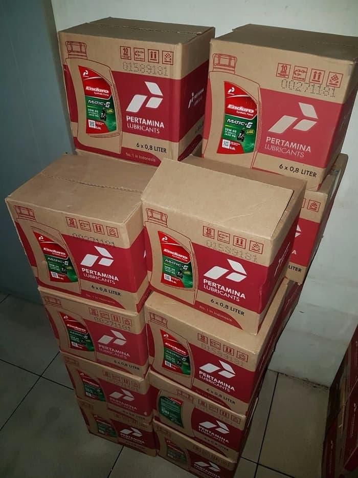 Oli Mesin ENDURO Synthetic Force 20w 40 Grosir Kemasan 1 Dus Isi 6 x