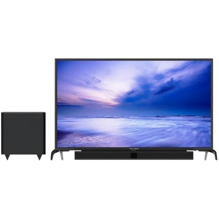 POLYTRON LED TV 43 INCH PLUS SOUNDBAR 43B150