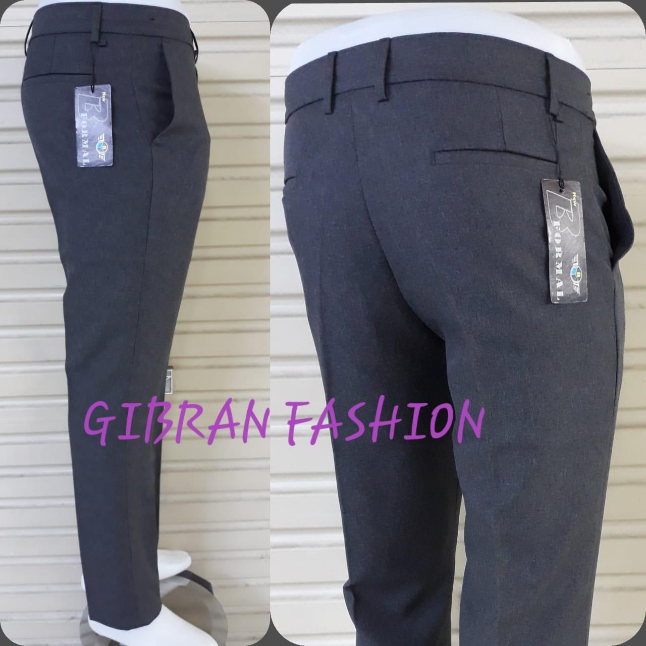 celana panjang pria terbaru formal/kantor model slim fit bahan gabardin bagus murah