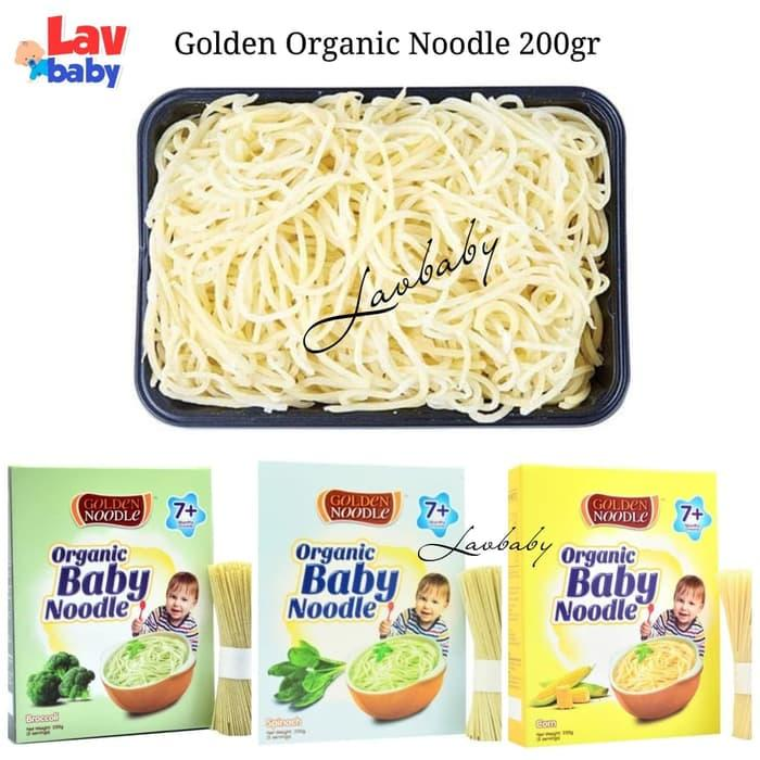 BEST SELLER Golden Noodle Organic Baby 200gr mie pasta makanan bayi - MnWqggbZ