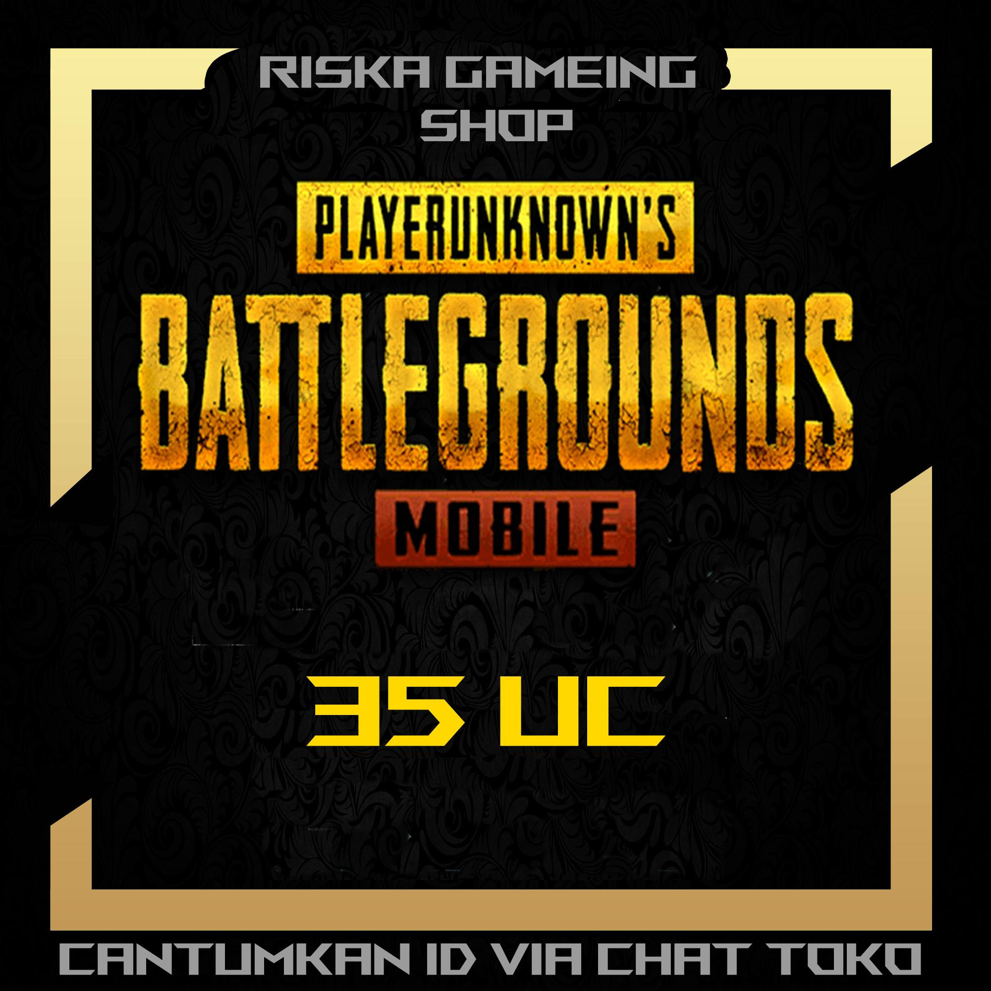 PlayerUnknown's Battlegrounds (PUBG) Mobile 35 UC Cash - Legal Via ID