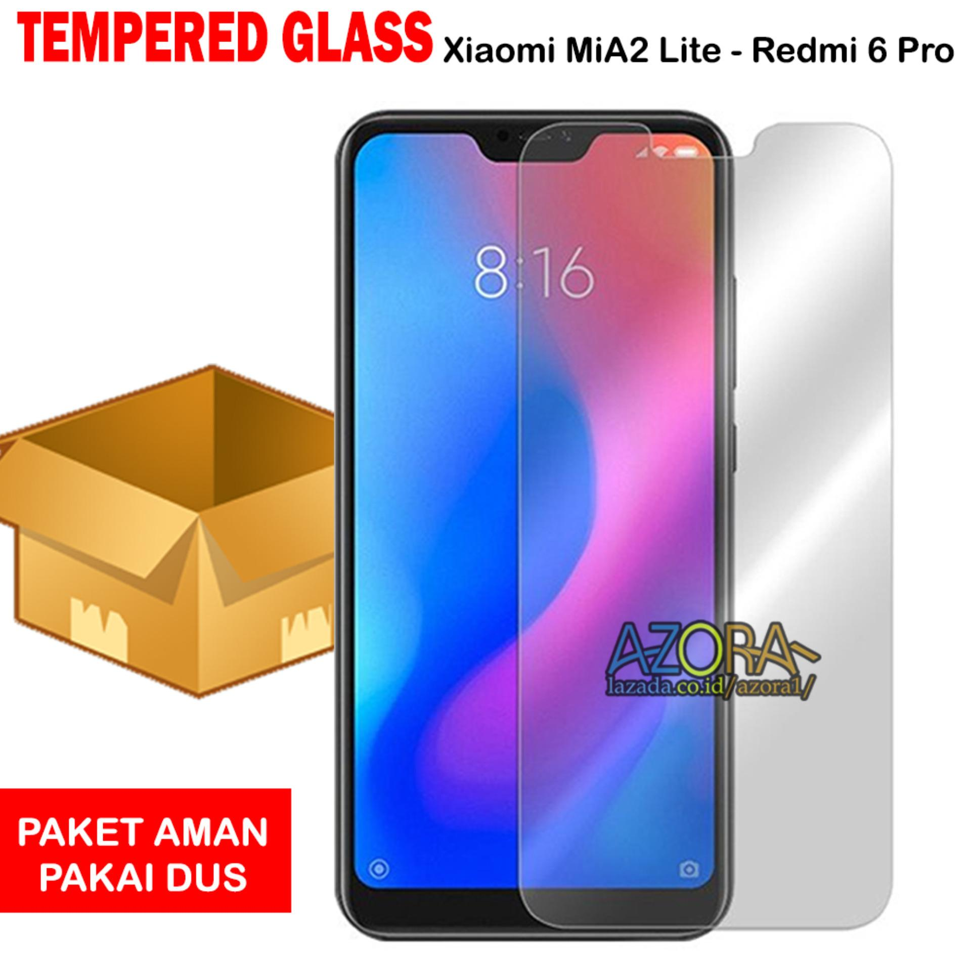 Tempered Glass Xiaomi MiA2 Lite / Redmi 6 Pro / Mi A2 Lite Screen Protector Pelindung Layar Kaca An