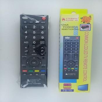 Remot Remote TV Toshiba LCD LED Universal-Hitam