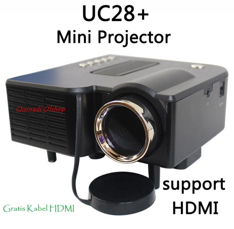 Proyektor Infokus Infocus UNIC UC28 + Portabel LED Projector Cinema Theater Dukungan USB/SD/