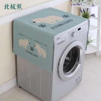 ลูกกลิ้งผ้าคลุมเครื่องซักผ้าทั้งชายและหญิง SIEMENS Panasonic Midea ประเภทกลอง Haier Littleswan Sanyo เครื่องซักผ้ากันแดด