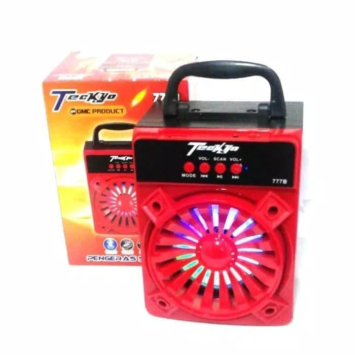 SPEAKER TEKYO 777B Bluetooth Wireless Portable Stereo Bass Garansi 1 tahun
