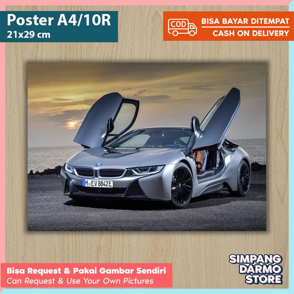 Poster Mobil Sport Bmw Terbaru Mulai M4 I8 X1 M5 M6 Tersedia Berbagai Ukuran A4 A3 Besar Kecil Hires Bisa Custom Gambar Lain Foto Mobil Balap Ferari Laborghini Foster Kamar
