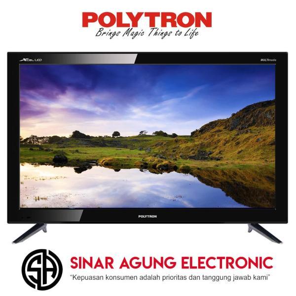 POLYTRON LED TV 24 Inch HD - PLD24D1850 GARANSI RESMI (DIJAMIN 100% ORI)