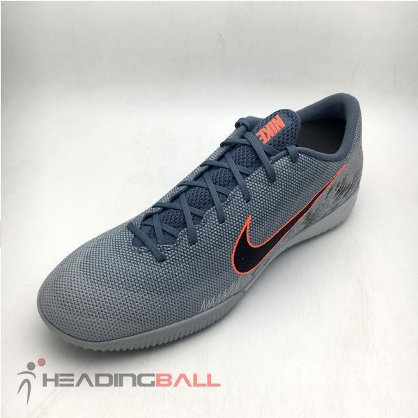 f96b3b192 Sepatu Futsal Nike Original Vapor 12 Academy IC Wolf Grey AH7383-408