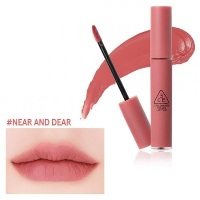Promo 3ce Velvet Lip Tint Near And Dear Original Bukan Kw - Yciurike By Michaelia Collections.