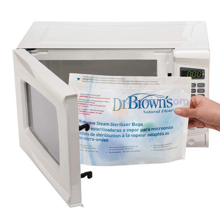 BEST SELLER Dr. Browns Microwave Steam Sterilizer Bags / kantong plastik steril - ZQyyOhoS