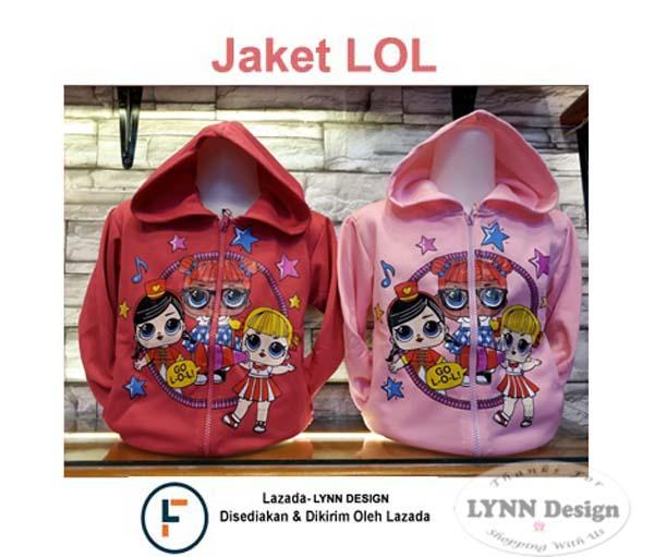 Lynn Design - Jaket Anak Cewek Lol Selucu Hello Kitty By Lynn Design.
