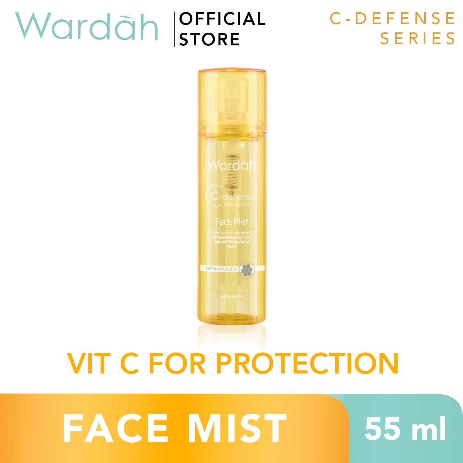 Wardah C-Defense Face Mist - Spray Wajah - Skincare