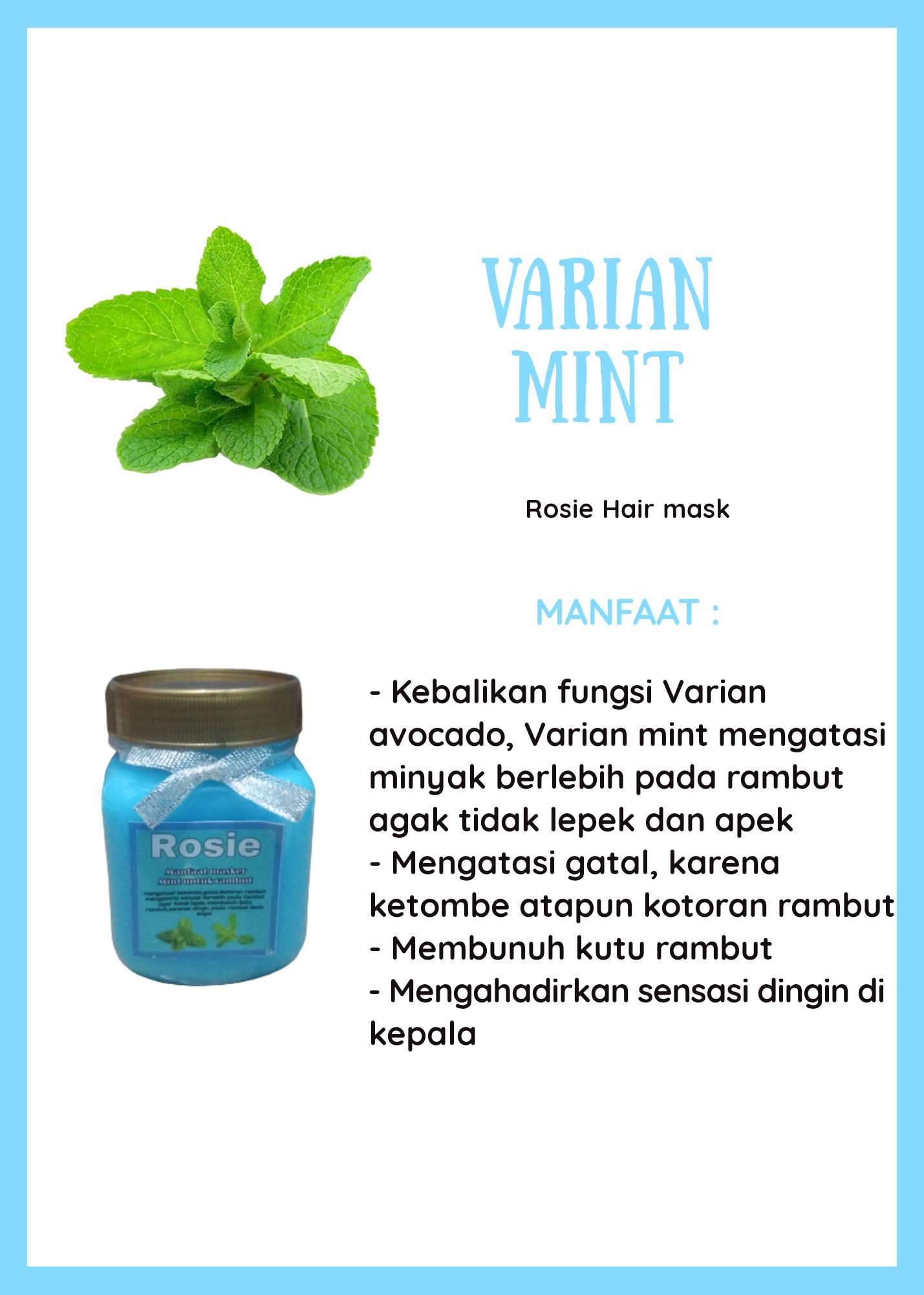 Masker Rambut Hairmask Varian Mint 200ml Lazada Indonesia