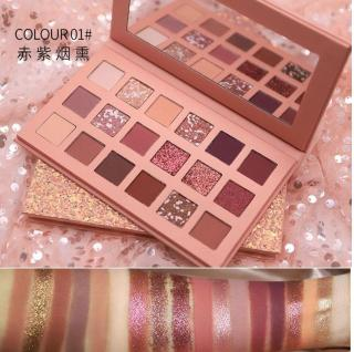 (PROMO) NOVO CINDERELLA 18 Colors Eyeshadow Palette Shimmer Glitter Eye Shadow Highlighter Pigment Loose Powder thumbnail