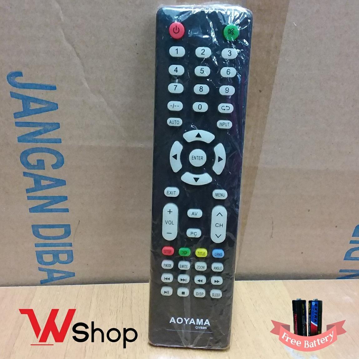 REMOTE/REMOT TV LCD LED AOYAMA ORIGINAL