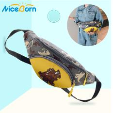 NiceBorn Kids Bags Girls Boys Cross Body Bag Kids Waist Packs Children Crossbody Bags Cartoon Shoulder Bags Canvas Pouch Casual Travel Bag