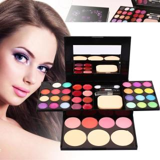ADS Makeup Box Color Makeup Set (24 Color Eyeshadow 8 Color Lip Gloss 4 Color Blush 3 Pieces) thumbnail