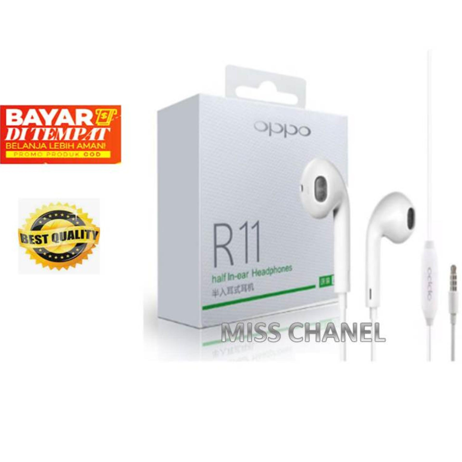Miss chanel Headset/Handsfree R11 Super Bass MH135 for Oppo Android/ Headshet super Bass