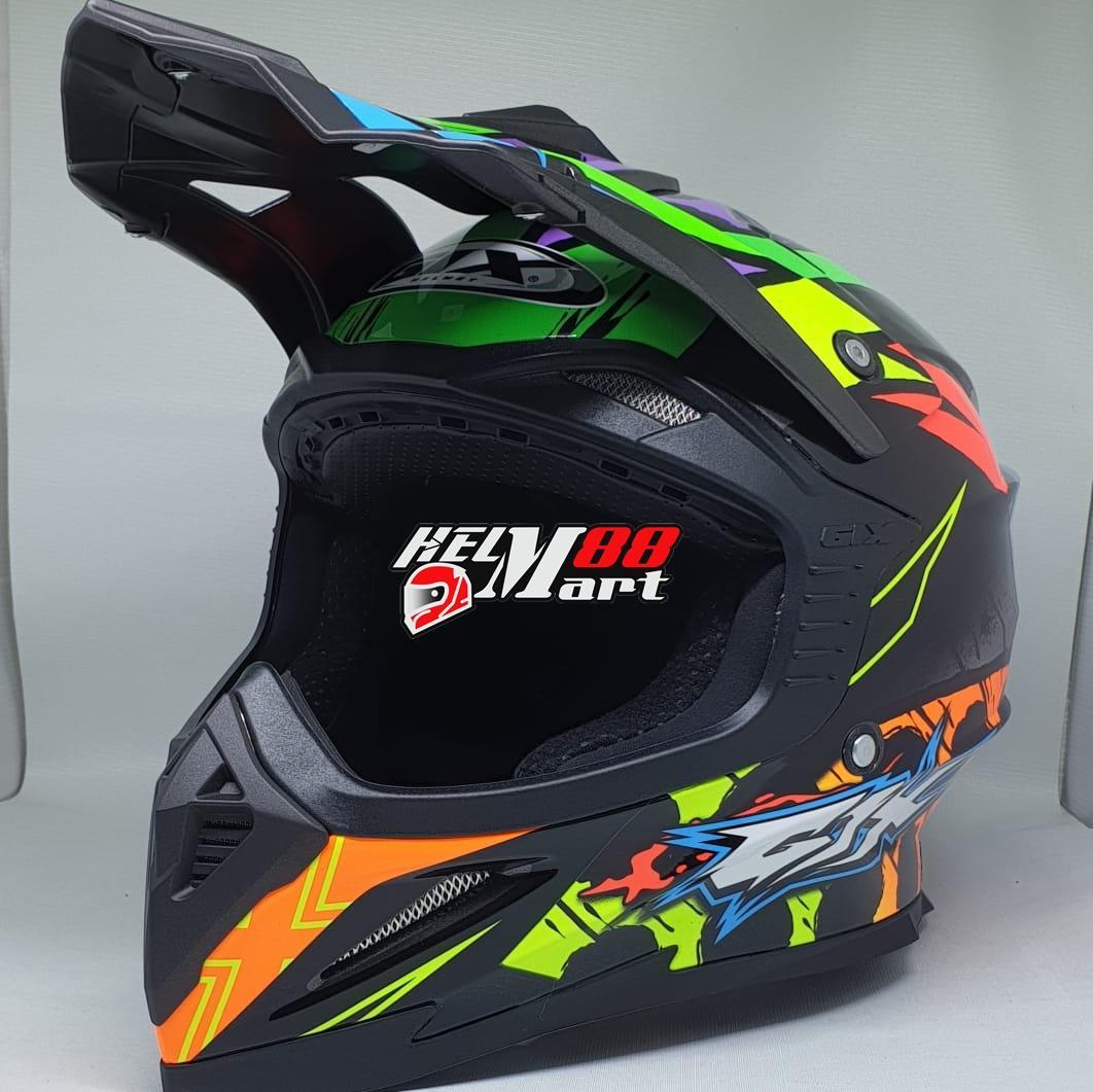 GIX Cross Motif Helm Motocross