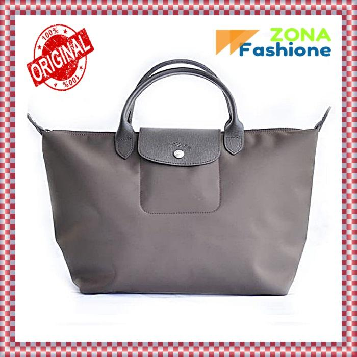 TAS WANITA LONGCHAMP LE PLIAGE NEO MEDIUM WITH LONG STRAP - COKLAT 5854b5fd29