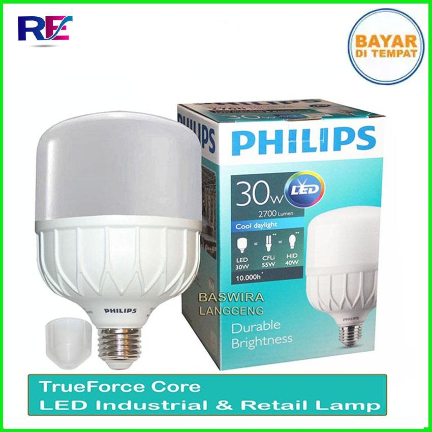 Lampu LED Philips 30 Watt 2700 Lumen Philips Cool Daylight PALING TERANG