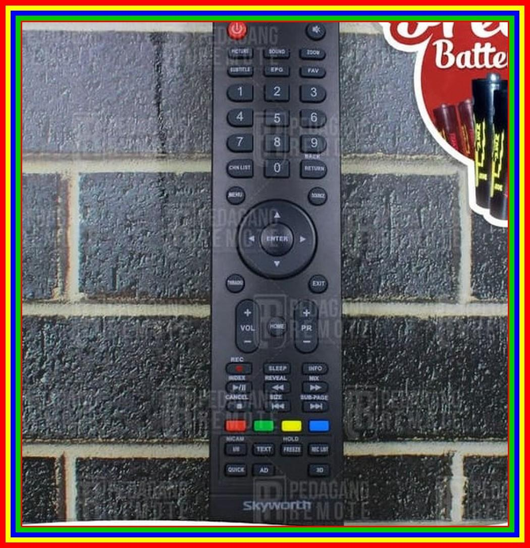 Remot Remote TV Skyworth Coocaa Digital TV Ori Original 32E2A22G