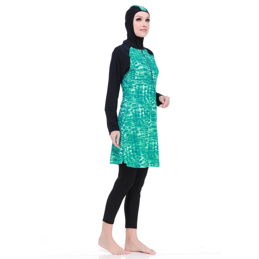 Baju Olahraga Renang Wanita Muslimah JUMBO BIG SIZE 4cdec9691d