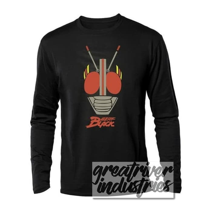 Kaos Kamen Rider Black Long Sleeve