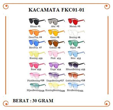 Funstore Official - Kacamata Fkc01-01 / Kacamata Fashion / Transparant / Tanpa Frame / Kacamata Murah / Wanita By Funstore Official Store.