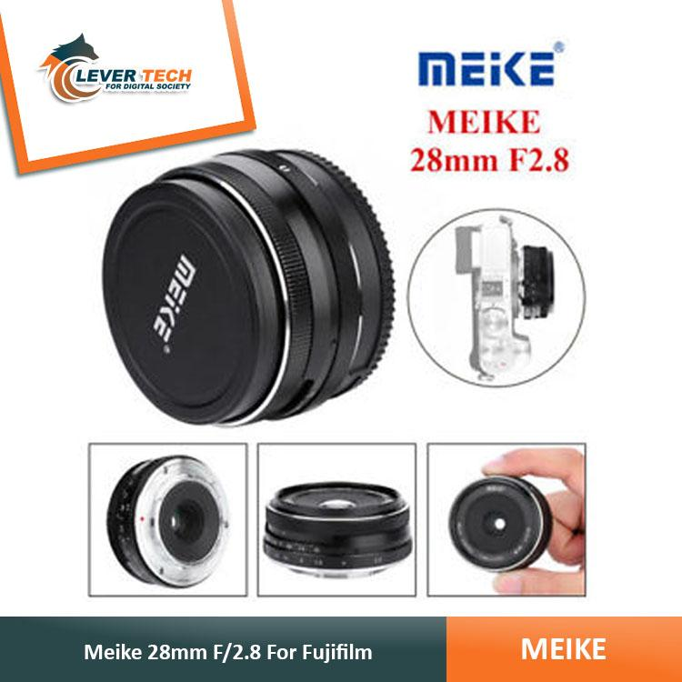 Lensa Meike For Fujifilm 28mm Aps-C F2.8 Lensa Manual Focus / Lensa Fuji / Lensa Kamera By Indo Clevertech.