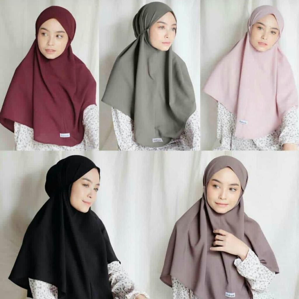 Original Khimar Tali Tanpa Pet Maryam Hijab Jilbab Kerudung Khimar Bergo Instan Lazada Indonesia