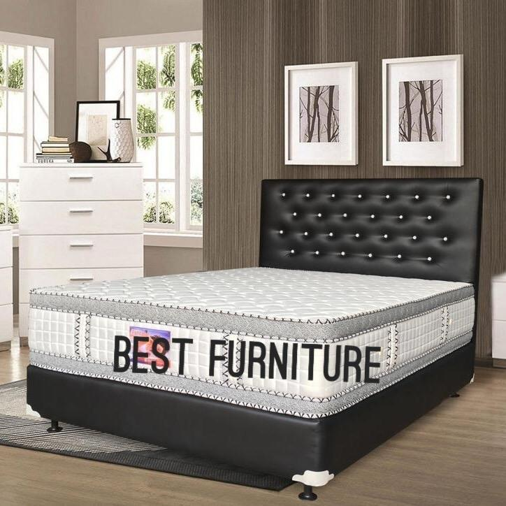 Best Winchester Xl Platinum Double Plush Top Springbed Hanya Kasur By Best Furniture.