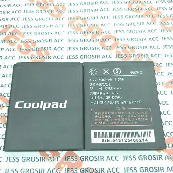 Baterai Battery Original Double Power COOLPAD Rise A116 CPLD143