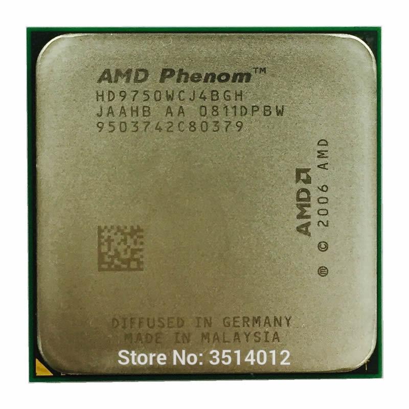 AMD Phenom X4 9750 2.4 GHz 95W Quad-Core CPU Processor HD9750WCJ4BGH/HD975BWCJ4BGH Socket AM2+ SLL Store