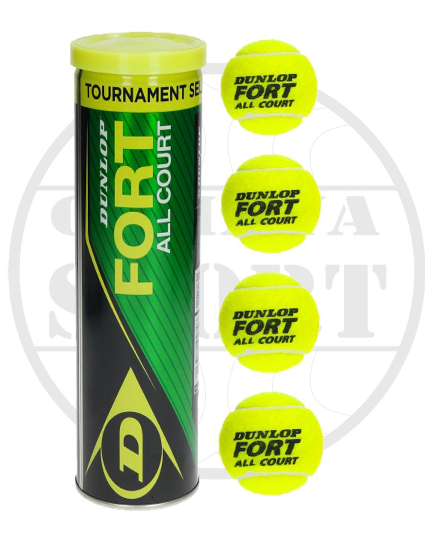 Bola Tennis Merk Dunlop Fort Isi 4 By Cahaya Sport.
