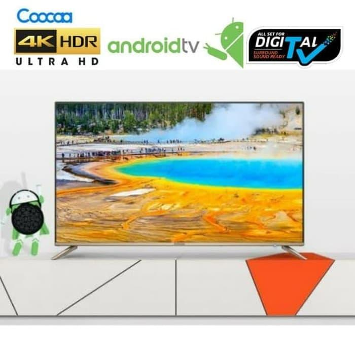 PALING MURAH COOCAA UHD 4K ANDROID TV 50S5G Wifi 50 INCH INFINITY VIEW