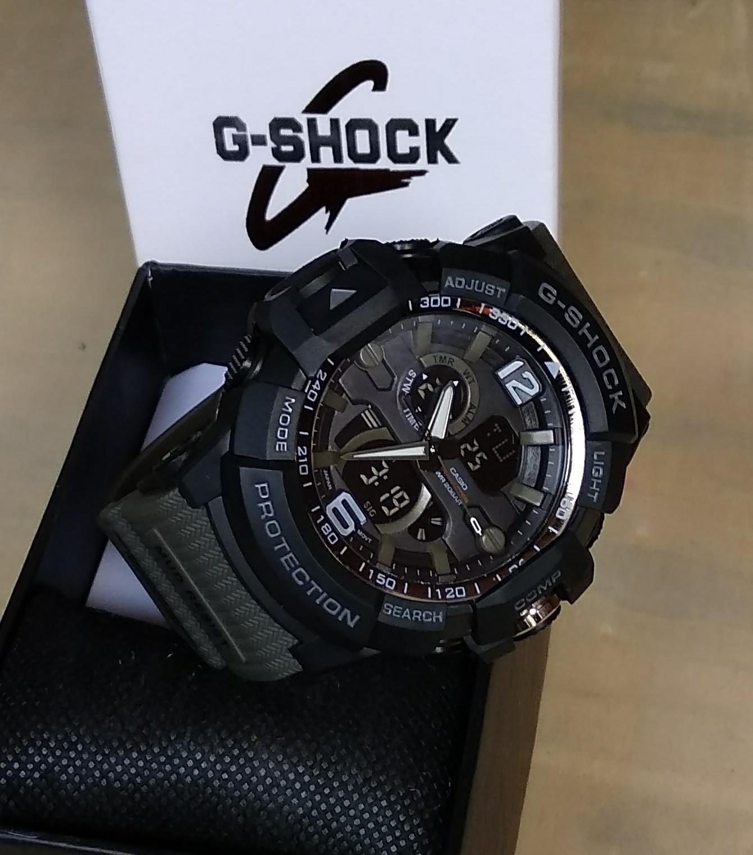 PROMO JAM TANGAN SPORT PRIA CASIO G SHOCK_GS G2508 NEW DUAL TIME  TAHAN AIR / WATER RESIST TERBARU