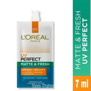 LOREAL UV Perfect Matte & Fresh 7mL Sachet thumbnail