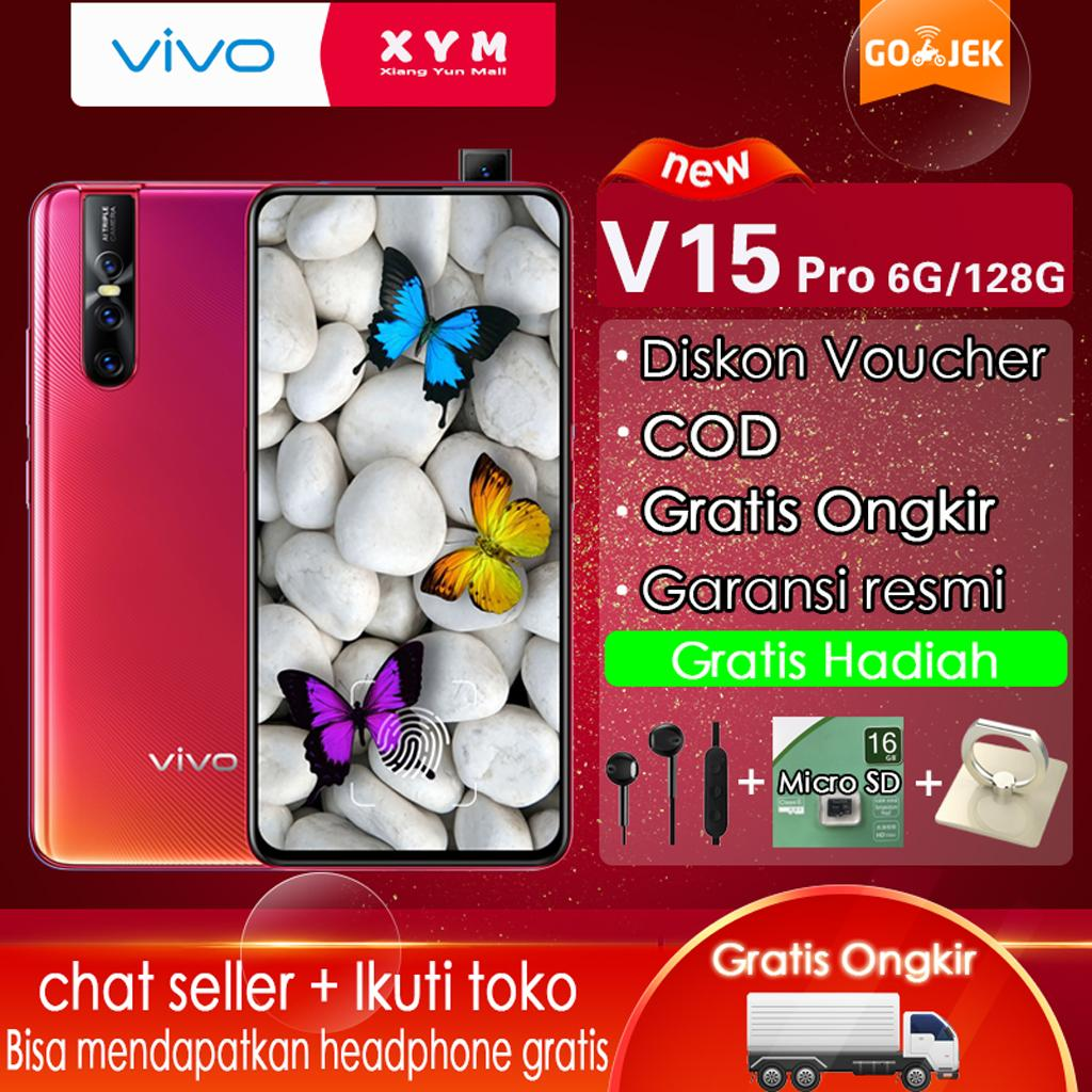 Vivo V15 Pro Hp 6G/128G - COD, Gratis Ongkir,Screen Touch ID,32MP Pop-Up Camera [Please Use The Voucher]