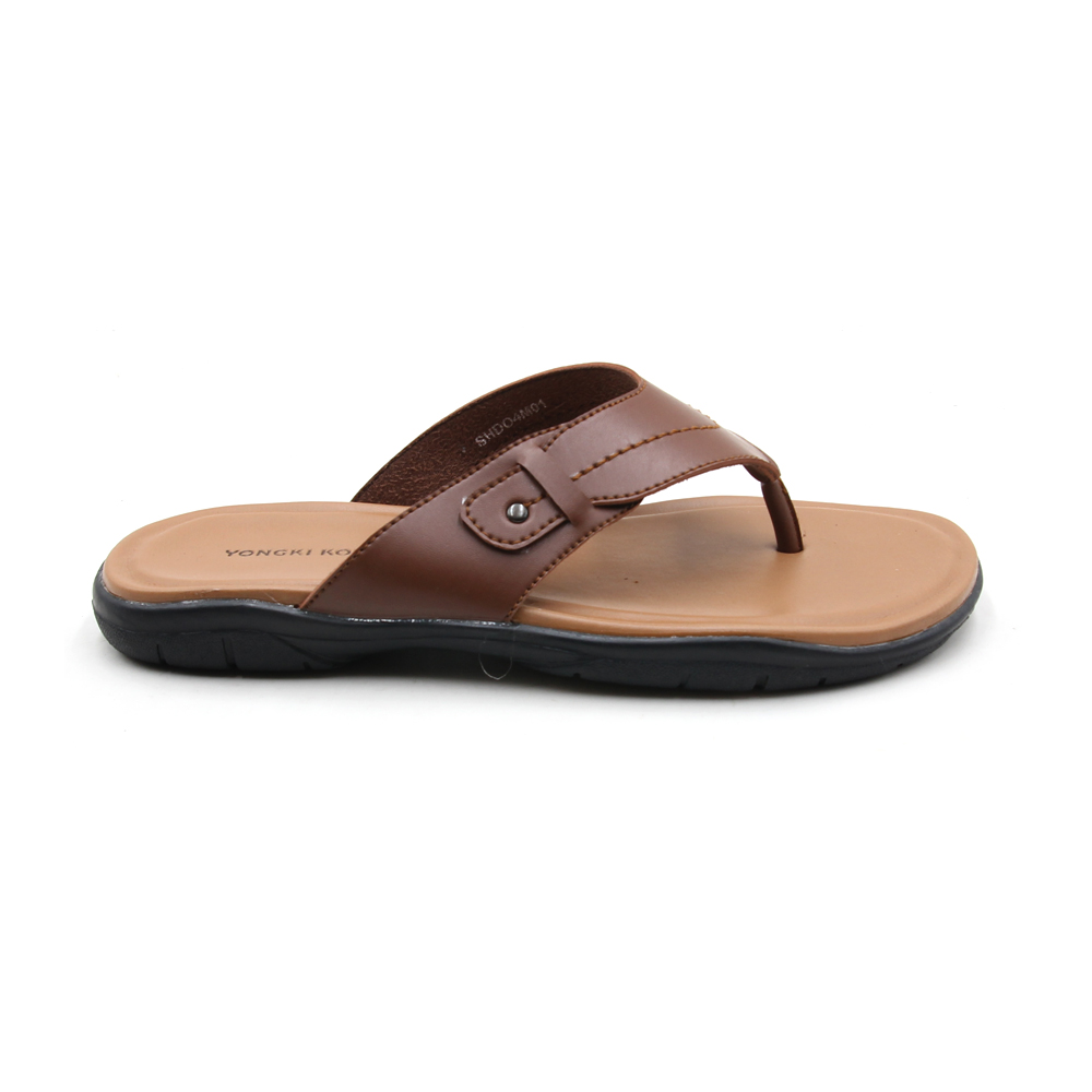 YONGKI KOMALADI SANDALS - SHDO4M01 BROWN