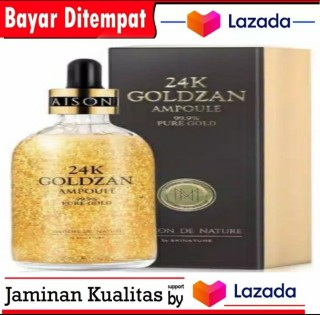 GOLDZAN 24k Original Serum Wajah Glowing - Serum Pure Skin 24K Original Flek Hitam Dan Jerawat thumbnail