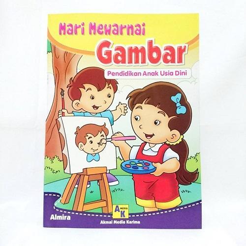 Buku Mewarnai Gambar Buku Pendidikan Anak Usia Dini Lazada Indonesia