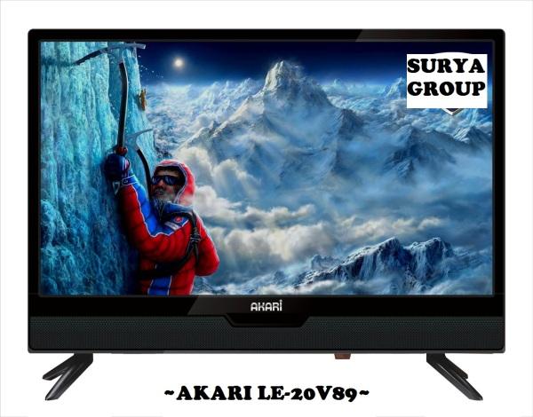 LED TV AKARI LE-20V89 [20 Inch] - USB MOVIE, HDMI & SMART ENERGY SAVING [Bergaransi Resmi]