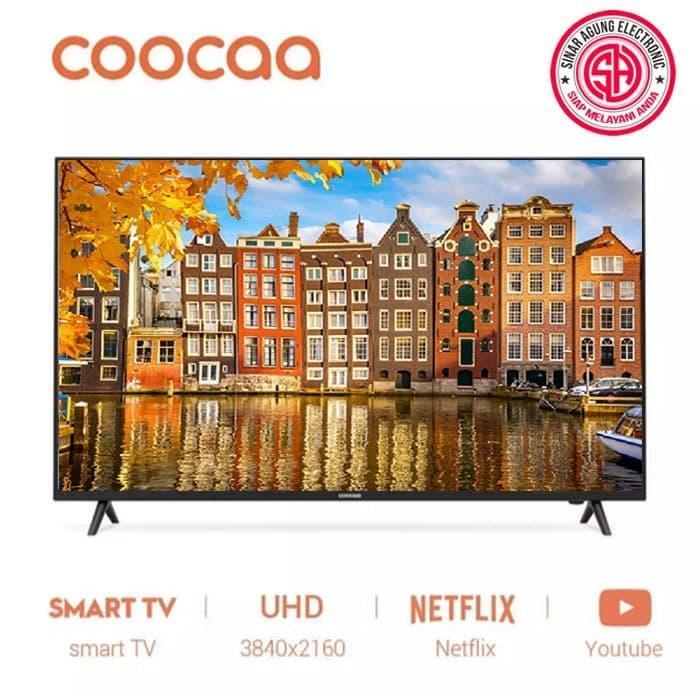 COOCAA 50 inch 4K UHD Netflix&Youtube Built-In Smart LED TV- Ultra HD- Wifi (Model 50S3N)