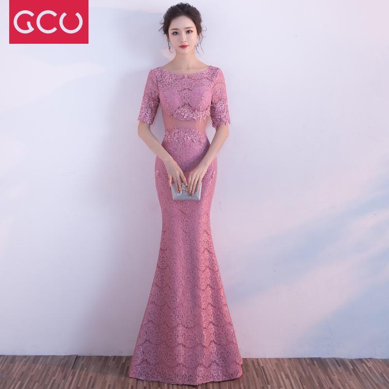 Buntut Ikan Baju Pelayanan Pengantin Wanita 2019 Menikah Model Baru Musim Semi Pesta Tahunan Gaun Malam Perjamuan Mahal Elegan Terlihat Langsing