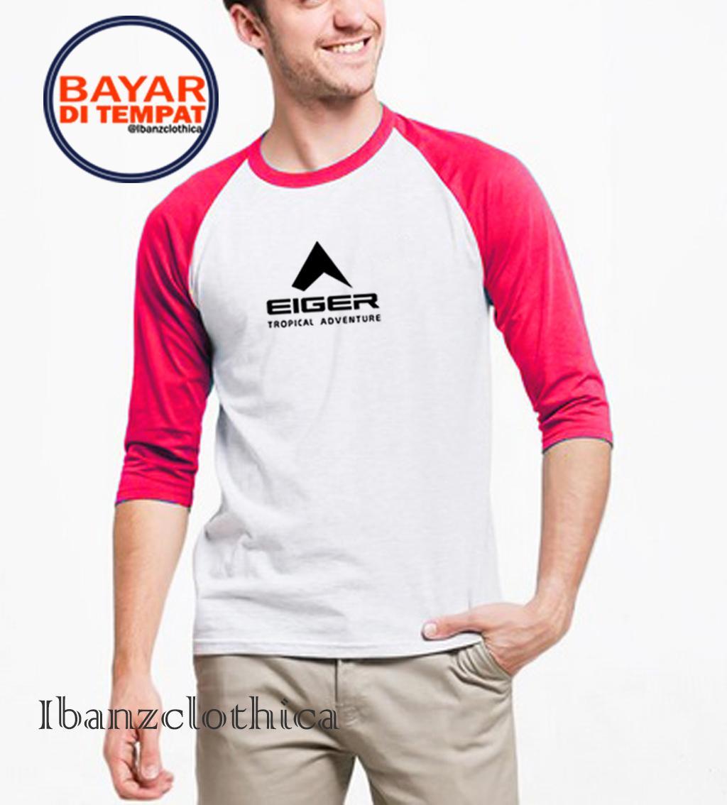 Ibanzclothica - Kaos Polos Marun - Hitam - Putih - Abu-abu - Navy Premium / Kaos Raglan / Kaos Olahraga 01 / Kaos Outdoor / Kaos Pria