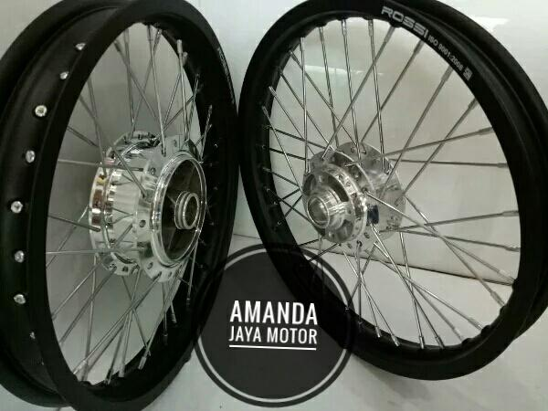 velg velk jari-jari Yamaha RX-King ring17 satu set