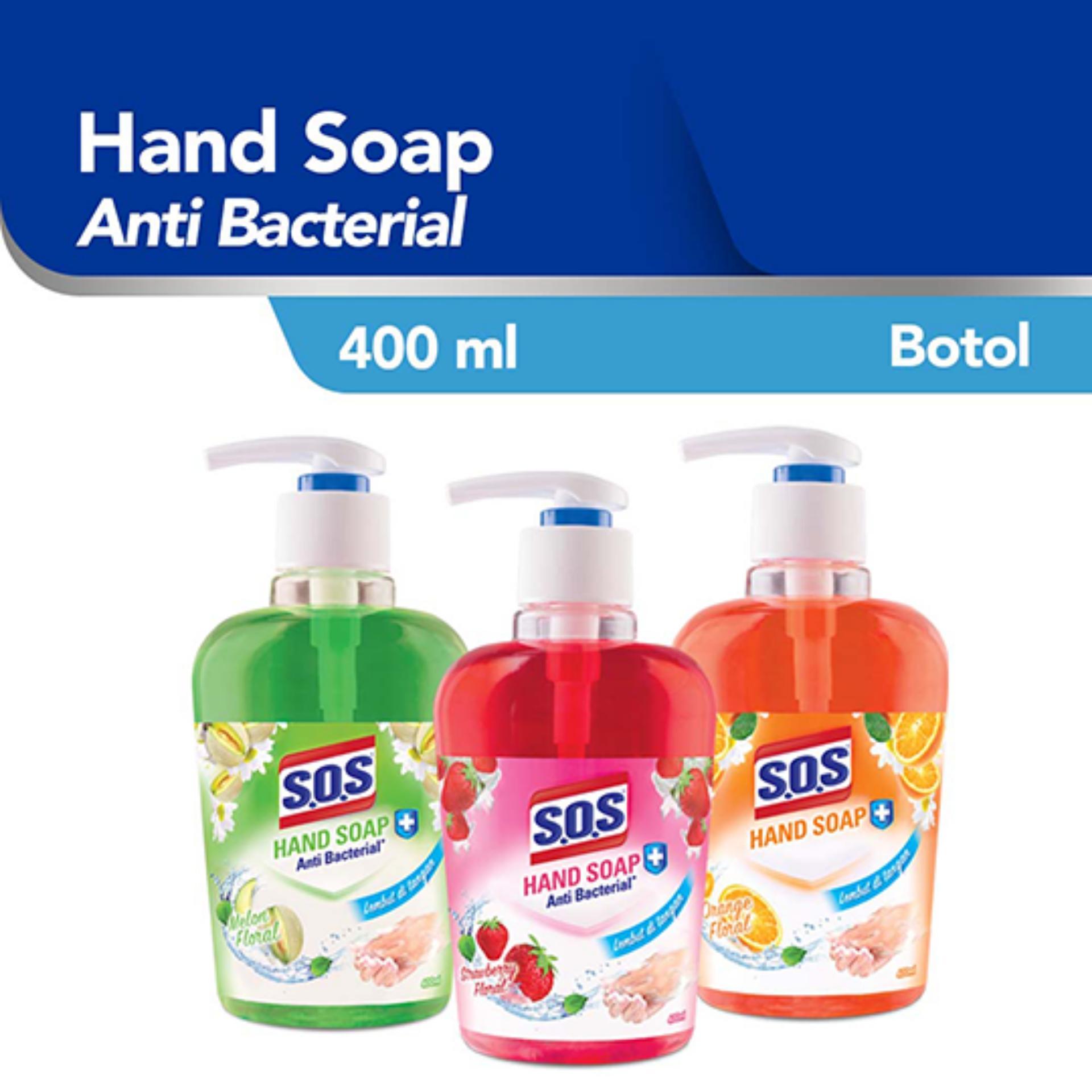 SOS Sabun Cuci Tangan Botol 400 ml